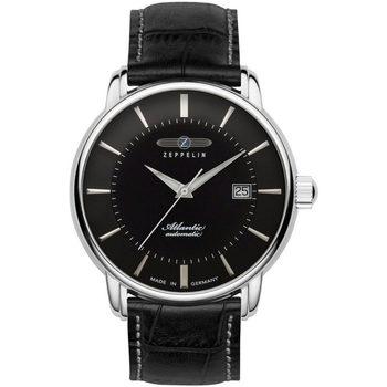 Relojes & Joyas Hombre Relojes analógicos Zeppelin 8452-2, Automatic, 40mm, 5ATM Plata