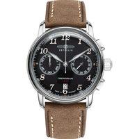 Relojes & Joyas Hombre Relojes analógicos Zeppelin 8678-2, Quartz, 43mm, 5ATM Plata
