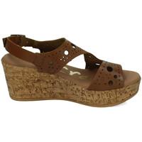 Zapatos Mujer Sandalias Karralli Sandalias cuÑa ROBLE