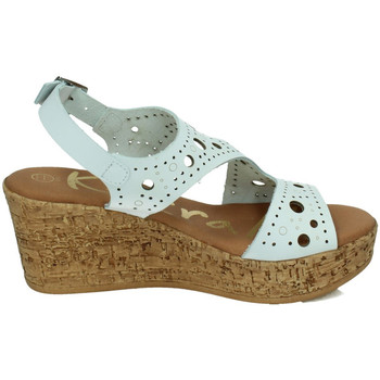 Zapatos Mujer Sandalias Karralli Sandalias cuÑa BLANCO