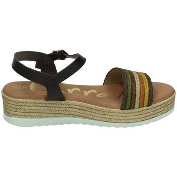 Zapatos Mujer Sandalias Karralli Sandalias cintas MARRÓN