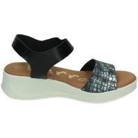 Zapatos Mujer Sandalias Karralli Sandalias berhan NEGRO