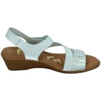 Zapatos Mujer Sandalias Karralli Sandalias berhan BLANCO