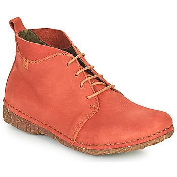 Zapatos Mujer Botas de caña baja El Naturalista ANGKOR Rojo