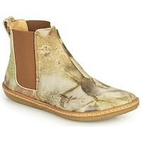 Zapatos Mujer Botas de caña baja El Naturalista CORAL Gris