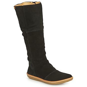 Zapatos Mujer Botas urbanas El Naturalista CORAL Negro