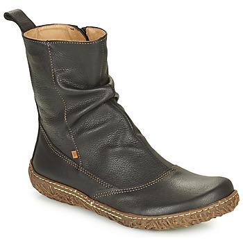 Zapatos Mujer Botas de caña baja El Naturalista NIDO ELLA Negro