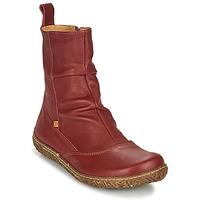 Zapatos Mujer Botas de caña baja El Naturalista NIDO ELLA Burdeo