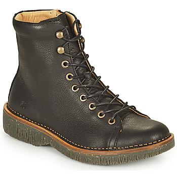 Zapatos Mujer Botas de caña baja El Naturalista VOLCANO Negro