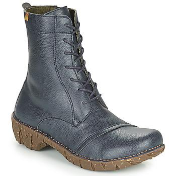 Zapatos Mujer Botas de caña baja El Naturalista YGGDRASIL Marino