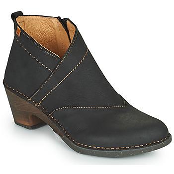 Zapatos Mujer Botines El Naturalista SYLVAN Negro