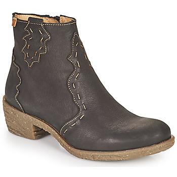 Zapatos Mujer Botines El Naturalista QUERA Negro