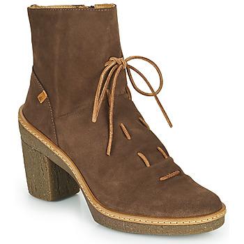 Zapatos Mujer Botines El Naturalista HAYA Marrón