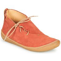 Zapatos Mujer Botas de caña baja El Naturalista PAWIKAN Rojo