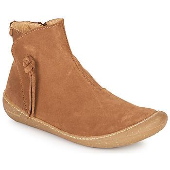 Zapatos Mujer Botas de caña baja El Naturalista PAWIKAN Marrón