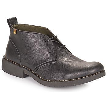 Zapatos Hombre Botas de caña baja El Naturalista YUGEN Negro