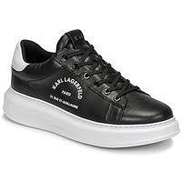 Zapatos Hombre Zapatillas bajas Karl Lagerfeld KAPRI MENS MAISON KARL LACE Negro
