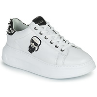 Zapatos Mujer Zapatillas bajas Karl Lagerfeld KAPRI KARL IKONIC STUD TAB Blanco