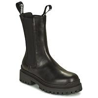 Zapatos Mujer Botas de caña baja Karl Lagerfeld BIKER II LONG GORE BOOT Negro
