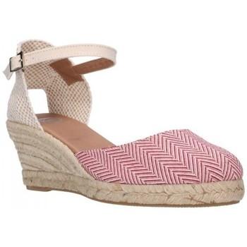 Zapatos Mujer Alpargatas Carmen Garcia 52S5 GRANATE Mujer Burdeos rouge