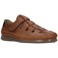 Zapatos Hombre Sandalias Dj Santa 2977 Hombre Cuero marron