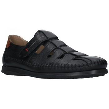 Zapatos Hombre Sandalias Dj Santa 2977 Hombre Negro noir