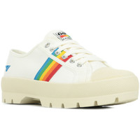 Zapatos Mujer Zapatillas bajas Gola Coaster Peak Rainbow Blanco