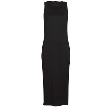 textil Mujer Vestidos cortos Karl Lagerfeld KITTED WRAP DRESS Negro