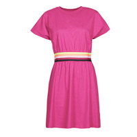 textil Mujer Vestidos cortos Karl Lagerfeld LOGO TAPE JERSEY DRESS Rosa