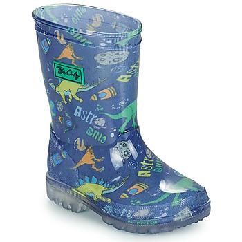 Zapatos Niño Botas de agua Be Only DINO FLASH Azul / Verde