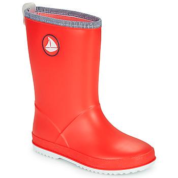 Zapatos Niños Botas de agua Be Only CORVETTE Rojo