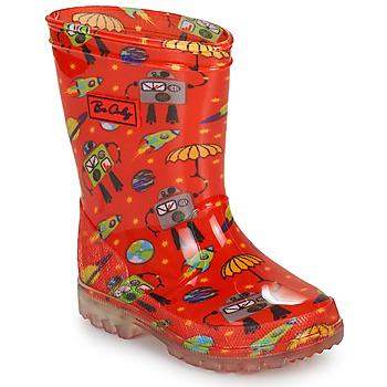 Zapatos Niño Botas de agua Be Only CYBORG Rojo