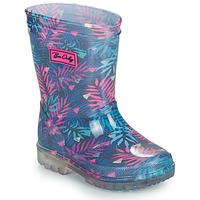 Zapatos Niña Botas de agua Be Only BINTOU Azul / Rosa