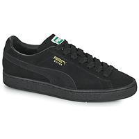 Zapatos Zapatillas bajas Puma SUEDE Negro