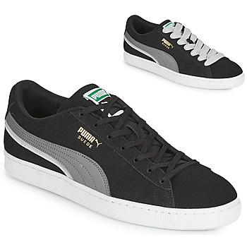 Zapatos Hombre Zapatillas bajas Puma SUEDE TRIPLEX Negro / Gris