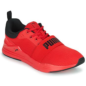 Zapatos Hombre Zapatillas bajas Puma WIRED Rojo / Negro