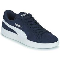 Zapatos Niños Zapatillas bajas Puma SMASH JR Azul