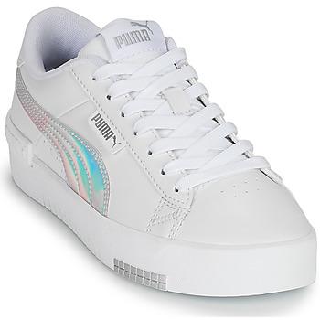 Zapatos Niña Zapatillas bajas Puma JADA RAINBOW JR Blanco / Multicolor