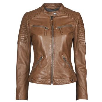 textil Mujer Chaquetas de cuero / Polipiel Oakwood HILLS6 Cognac