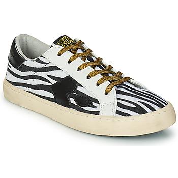 Zapatos Mujer Zapatillas bajas Le Temps des Cerises AUSTIN Blanco / Negro