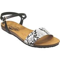 Zapatos Mujer Sandalias Plakton Mam-ambo-575725 Negro blanco