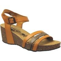 Zapatos Mujer Sandalias Plakton Brescia Cuero naranja