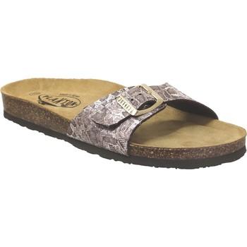 Zapatos Mujer Chanclas Plakton Bom Marrón claro