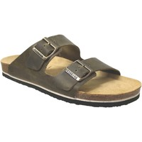 Zapatos Hombre Zuecos (Mules) Plakton Barna Cuero caqui