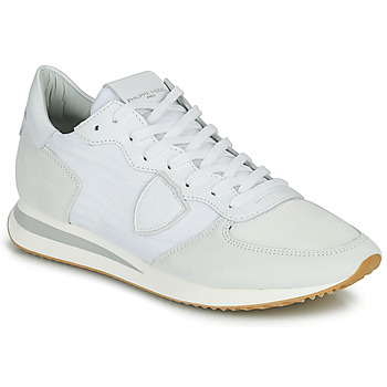 Zapatos Hombre Zapatillas bajas Philippe Model TRPX LOW BASIC Blanco