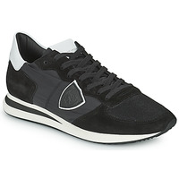 Zapatos Hombre Zapatillas bajas Philippe Model TRPX LOW BASIC Negro