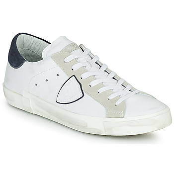 Zapatos Hombre Zapatillas bajas Philippe Model PRSX LOW MAN Blanco