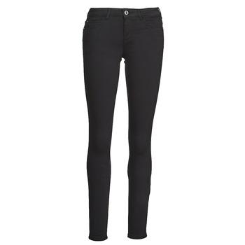 textil Mujer Pantalones con 5 bolsillos Guess CURVE X Negro