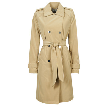 textil Mujer Trench Guess SUSAN TRENCH Beige