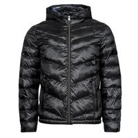 textil Hombre Plumas Guess SUPER LIGHT PUFFA JKT Negro